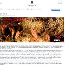 L'histoire du Carnaval - Tenerife