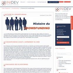 L'histoire du crowdfunding
