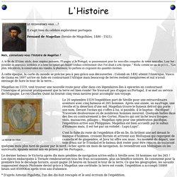 L'Histoire de Magellan