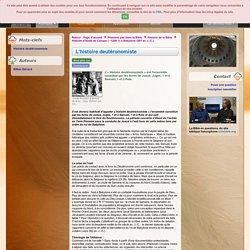 L'histoire deutéronomiste