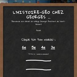 L'histoire-géo chez Georges …