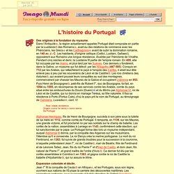 L'histoire du Portugal.