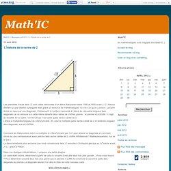 L'histoire de la racine de 2 - Math'IC