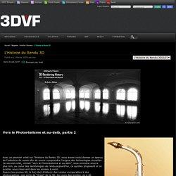 L'Histoire du Rendu 3D