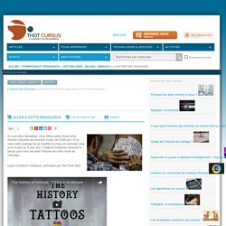 L'histoire des tatouages