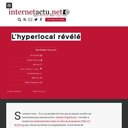 L'hyperlocal révélé