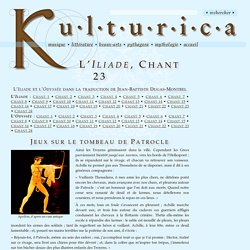 L'Iliade, Chant 23