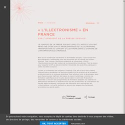 « L'illectronisme » en France