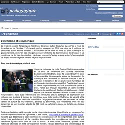 L'illettrisme et le numérique