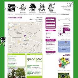 Jardin des Allivoz - le passe-jardins
