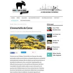 L'immortelle de Corse