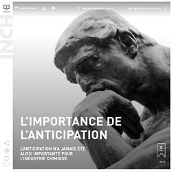 L'importance de l'anticipation