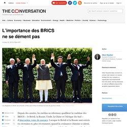 L'importance des BRICS nesedémentpas