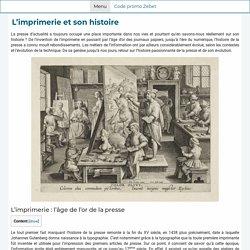 L'imprimerie et son histoire