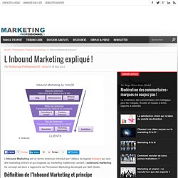 L Inbound Marketing expliqué !