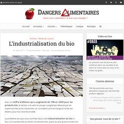L'industrialisation du bio