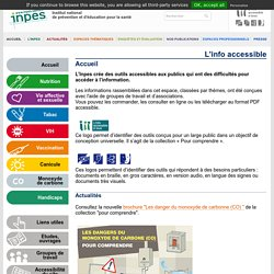L'info accessible - Accueil