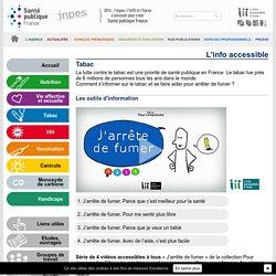 Tabac : 4 vidéos accessibles à tous - Santé Publique France