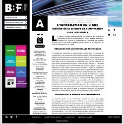 L'information en ligne
