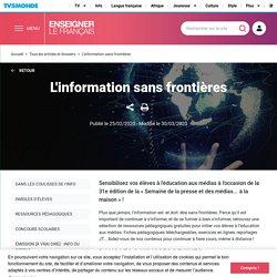 TV5 monde : L'information sans frontières