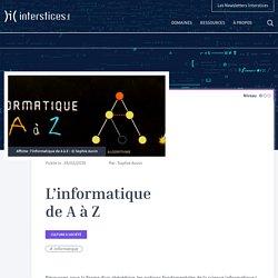 L'informatique de A à Z