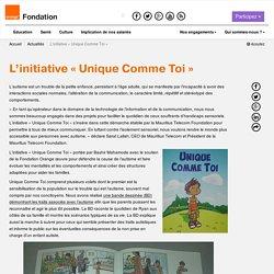 L'initiative «Unique Comme Toi»