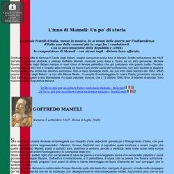 L'inno di Mameli: Un po' di storia