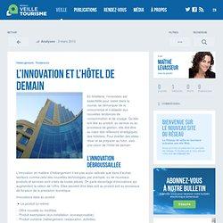 » L'innovation et l'hôtel de demain