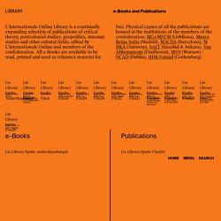 L'Internationale - Library