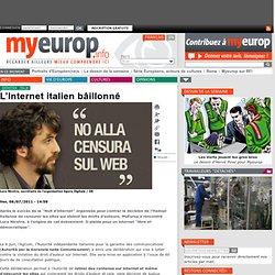L'Internet italien bâillonné