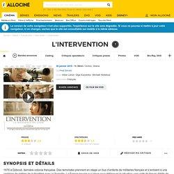 L'Intervention - film 2019