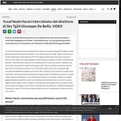 L'intervista a Yuval Noah Harari