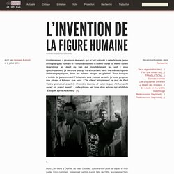 L'invention de la figure humaine