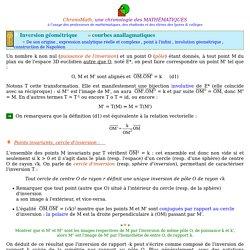 L'inversion géométrique