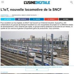 L'IoT, nouvelle locomotive de la SNCF