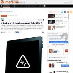 L'iPad, un véritable concentré de DRM ? - Numerama