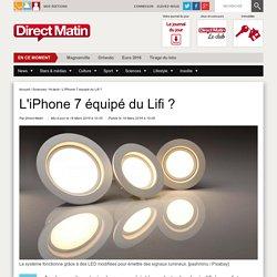 L'iPhone 7 équipé du Lifi ?