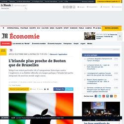 L'Irlande plus proche de Boston que de Bruxelles