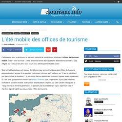 L'été mobile des offices de tourisme