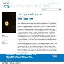L'occupation du monde - Sylvain Piron - 2018