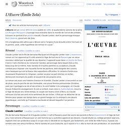 L'Œuvre (Émile Zola)