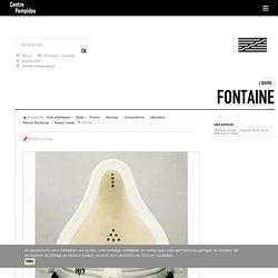 L'œuvre Fontaine