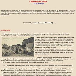 L'offensive en Artois en mai 1915