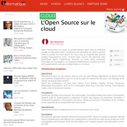 L'Open Source sur le cloud