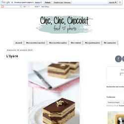 Chic, chic, chocolat...: L'Opéra