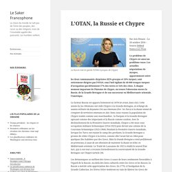 L'OTAN, la Russie et Chypre