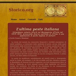 L'ultima peste italiana