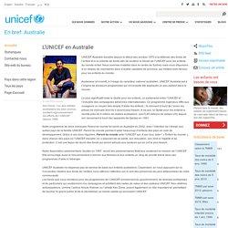 L'UNICEF en Australie