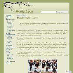 L'uniforme scolaire - Tout-le-Japon