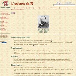 L'univers de Pi - Cesaro